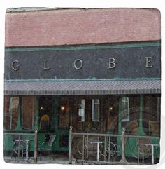 The Globe Athens Georgia UGA. Atlanta Landmark by CoastersByHazel