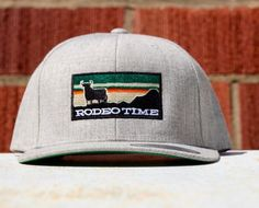 65d225e3fd4 Dale Brisby Silver Rodeo Time hat. Snap back. One size fits all Dale Brisby
