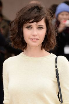 Blunt Bangs: Consider this cut a hybrid of Taylor Swift's new bob and Alexa Chung's trademark shaggy bangs. Put the two together and you get this adorable combination.
