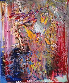 Gerhard Richter, Abstraktes Bild (Abstract Painting), 1989. Oil on canvas. 122cm H x 102cm W. [703-4]