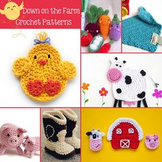 On the Farm Crochet Patterns by Daisy Cottage Designs, via Flickr