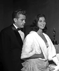 James Dean with  pier angeli...Last Love
