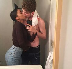 Keep calm and love interracial couples. Interracial Couples, Biracial Couples, Interracial Wedding, Relationship Goals Pictures, Cute Relationships, Serious Relationship, Cute Couples Goals, Couple Goals, Black Woman White Man