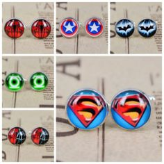 Handmade Photo Superman Batman Groomsmen Cufflinks Great Groomsmen Wedding Gift | eBay