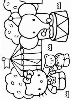 Hello Kitty Colouring Sheet