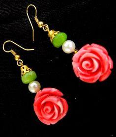 Earrings Online:Buy handmade danglers,jhumkas, bead earrings
