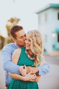 Hollywood Beach Engagement Session - On Style Me Pretty: http://www.StyleMePretty.com/florida-weddings/2014/02/27/hollywood-beach-engagement-session/ Jonathan Connolly Photography