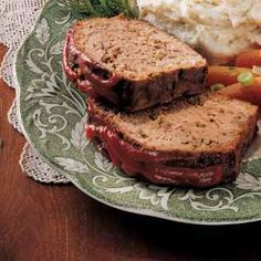 Mom's Best Meat Loaf Recipe photo by Taste of Home     http://www.tasteofhome.com/Recipes/Mom-s-Best-Meat-Loaf?cpi=1=