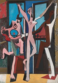 Pablo Picasso. The Three Dancers, 1925 Oil on canvas  London, Tate Gallery
