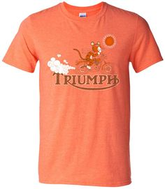 Triumph Tiger Motorcycle Shirt / $15 / S. Britt