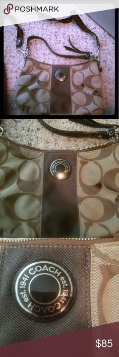 Brown purse Coach brown crossover purse Bags Crossbody Bags