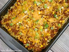 Manwich Sloppy Joe Casserole