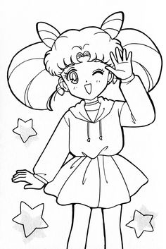 Sailor Moon Coloring Pages, Coloring Pages For Girls, Colouring Pages, Sailor Chibi Moon, Origami Easy, Colour Board, Magical Girl, Beautiful Creatures, Anime