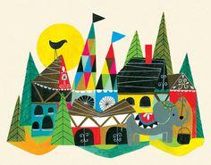 Ilustrador y escritor Lisa Congdon «Ilustración Viernes