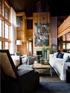 Rustic Modern House on Lake Martin, Alabama | Rue