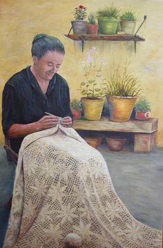 """""""Hand Work"""" by Leonard Franckowiak"""