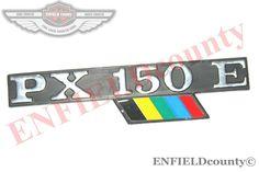 VESPA COWL LOGO BADGE EMBLEM  DECAL PX 150E SCOOTERS