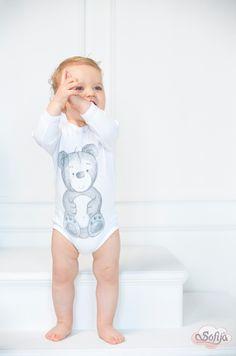 Bawełniane body Szaraczek   #sofija #bawełna #antyalergiczne #ubranka #dziecko #kids #baby #kidsfashion #kinder #kindermode #ребенок #мода #enfant #mode #producer