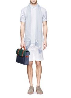 ISAIA Stretch cotton shorts