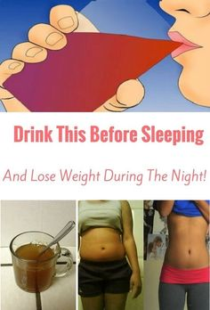 Drink This Before Sleeping, And Lose Weight During The Night