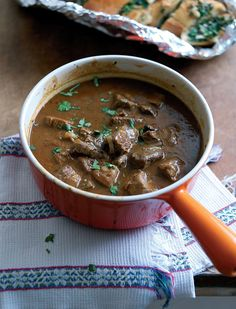 Slow-cooked Spicy Lamb