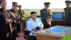 Coreia do Norte tem realizado vários teste de mísseis, despertando preocupações de diversos países e da ONU. Foto: AFP PHOTO / KCNA