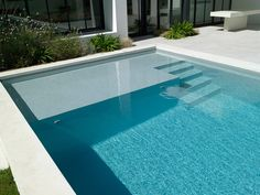 Lap pool of Piscines Carré Bleu via Architonic