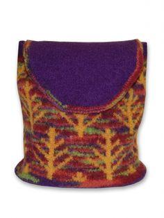 Autumn Woods Bag | Yarn | Free Knitting Patterns | Crochet Patterns | Yarnspirations