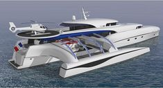 Subsee trimaran long traveling yacht concept  , - ,   Subsee trimaran ... ,  #diesel-electric #Exploration #Trimaran