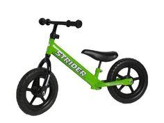 Strider ST-2 PREbike Balance Running Bike, Green:Amazon:Sports & Outdoors