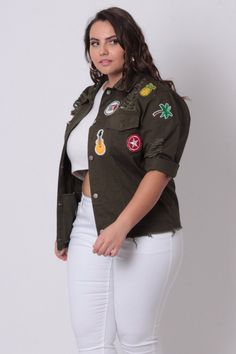 b761f3dfcea Curvy Sense - Plus Size New Arrivals For Women. Denim Jacket ...