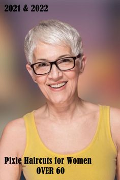 Latest Short Pixie Cuts for Women over 60 in 2021-2022 Hair Color For Women, Short Hair Cuts For Women, Short Pixie Haircuts, Pixie Hairstyles, Over 60, Older Women Hairstyles, Pixie Cuts, Your Style, Hair Styles