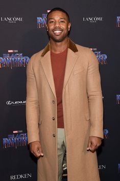 Michael B. Jordan attends the Marvel Studios Black Panther Welcome to Wakanda New York Fashion Week Showcase at Industria Studios on February 2018 in New York City Fine Boys, Fine Men, Michael Bakari Jordan, Bae, Jordan Fashions, Handsome Black Men, Black Man, Well Dressed Men, New York Fashion