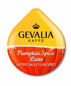 Tassimo Gevalia Pumpkin Spice Latte - http://hotcoffeepods.com/tassimo-gevalia-pumpkin-spice-latte/