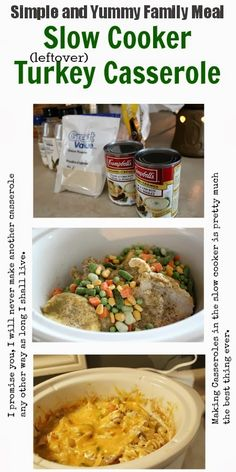 The kind of meal that will give you warm, fuzzy feelings all day long while it cooks away in your crock pot. So easy too, of course!