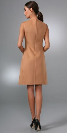 Calvin Klein Collection Collingwood Dress | SHOPBOP Stylish Dresses, Simple Dresses, Elegant Dresses, Pretty Dresses, Vintage Dresses, Fashion Vestidos, Fashion Dresses, Bcbg, Neutral Outfit