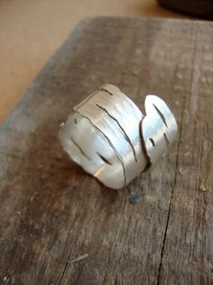 Bought it! - Birch Bark Ring - LOVE