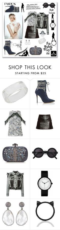 """Style Trends"" by zabead ❤ liked on Polyvore featuring INC International Concepts, Manolo Blahnik, Preen, Courrèges, Bottega Veneta, Kuboraum, Lanvin and Kate Spade"