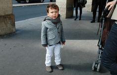 Love how this boy dresses better than most grown men.