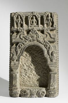 Portion of a Disassembled Stupa, India, Bihar, Bodh Gaya region, 9th century.
