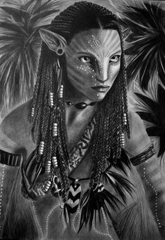 NEYTIRI by AngelasPortraits.deviantart.com on @DeviantArt