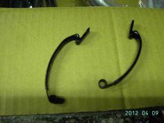Simple rear frame clip for older brompton.