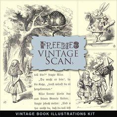 Vintage Alice Illustrations ~ Far Far Hill