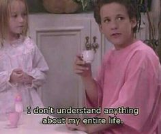 GIRLBOSS MOOD: Cory in millenial pink waxing poetic on knowledge / Boy Meets World Inspo Quotes Throwback Movie Lines, Girl Meets World, Boy Meets World Quotes, Film Quotes, Quote Aesthetic, Pink Aesthetic, My Mood, Mood Quotes, I Laughed