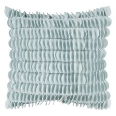 Surya Honeycomb Decorative Pillow - Light Blue