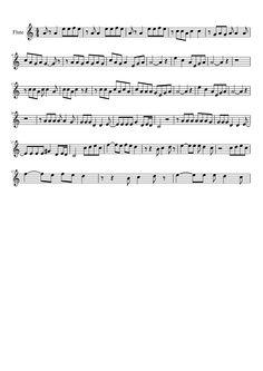 Bad Romance - Lady Gaga | Flute | MuseScore