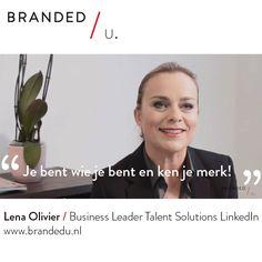Lena Olivier / Business Leader Talent Solutions LinkedIn