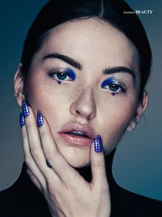 Mary Rubin by Alex Evans for Institute Magazine beauty story 2