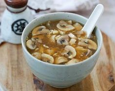 Hot and Sour Soup - Easy Recipes at RasaMalaysia.com -Add bamboo shoots & chili flakes.