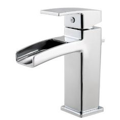 Good reviews on this faucet. Pfister GT42DF0C Kenzo 4-Inch Lead Free Centerset Bathroom Faucet, Polished Chrome - Amazon.com